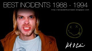 KURT COBAIN BEST INCIDENTS (1988 - 1994) | NIRVANA
