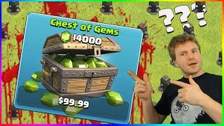 DID I REALLY NEED THIS...? ▶️ Clash of Clans ◀️ BUY 14,000 GEMS TO GET 200