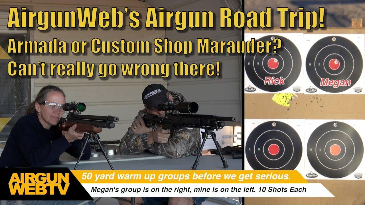 AirgunWeb's Airgun Road Trip - Grace Ranch TX to shoot the Custom Shop  Benjamin Marauder and Armada!