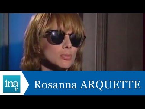 Rosanna Arquette répond à Rosanna Arquette (Part 1) - Archive INA