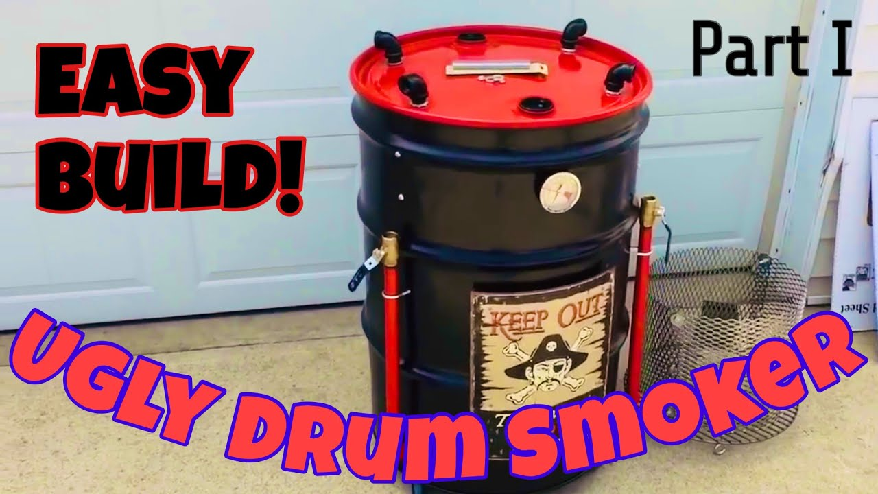 how to build an ugly drum smoker also known as a uds youtube. Black Bedroom Furniture Sets. Home Design Ideas