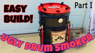 How to Build an Ugly Drum Smoker, also known as a UDS - Part I.