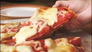 Как приготовить вкуснейшую пиццу на тонком бездрожжевом тесте Рецепт