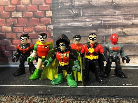 how to make Damian Wayne the son of Batman custom imaginext toy