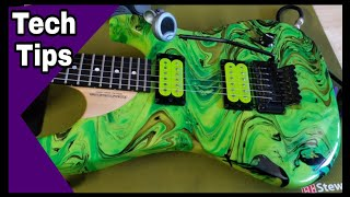 How To Re-string A Floyd Rose Quick And Easy