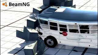 Slamming Into Walls BeamNG Drive