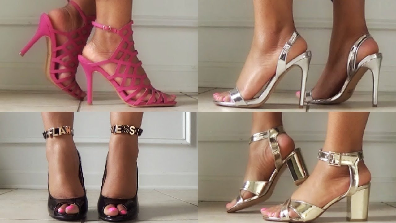 Shoes Under 10 dollars! 5.99fashion.com Shoe Haul Review Try-on ...