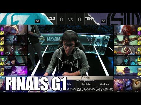 CLG vs TSM | Game 1 Grand Finals S6 NA LCS Spring 2016 | Team Solomid TSM vs CLG G1 1080p