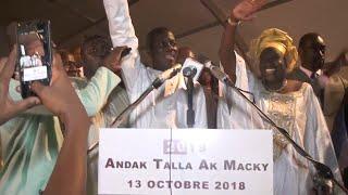 Cérémonie 2019 Andak Talla Ak Macky organisée à Dakar: Le maire de Thies en démonstration de force