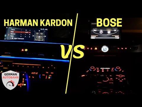 Harman Kardon Vs Bose SOUND SYSTEM | 2019 BMW 7 Series Vs 2017 Audi A8 - You & Me (Flume Remix)