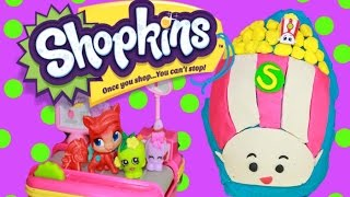Giant Shopkins Season 3 Wild Carrot PlayDoh Surprise Egg MLP Lalaloopsy Blind Bags Series 2 Shopkin