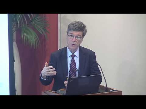 """The digital revolution and the distribution of income"" with Prof Jeffrey D. Sachs"