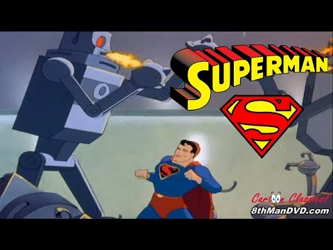 SUPERMAN CARTOON: The Mechanical Monsters (1941) (Remastered) (HD 1080p)
