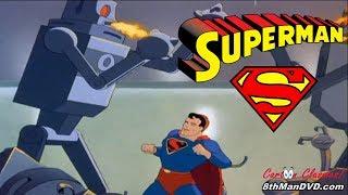 SUPERMAN CARTOON: Das Mechanische Monster (1941) (Remastered) (HD 1080p)