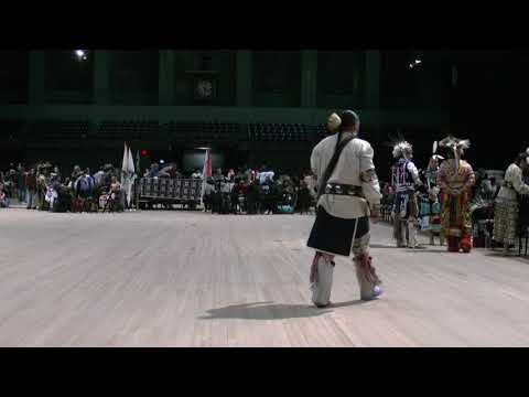 Bill Crouse Sr - Seneca Song - United Lenape Nations PowWow 2018