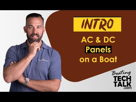 [GJFJ_338]  Intro - AC & DC Panels on a Boat - YouTube | Dc Distribution Panel Wiring Diagram |  | YouTube