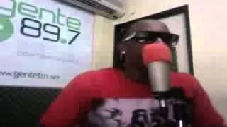 Rekeson improvisando en Gente 89.7 K12 Jamz @Barquisimeto mejor audio (Tiraera pa el Prieto)