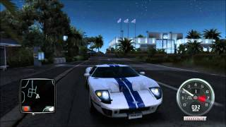 PC Test Drive Unlimited 2 BETA - Night Gameplay 1080p