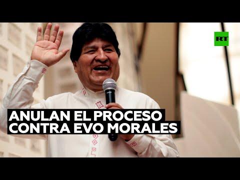 RT en Español: Una jueza boliviana anula el proceso contra Evo Morales por supuesto fraude electoral en 2019