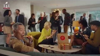 pizza hut super bowl commercial 2017 george takei oh my