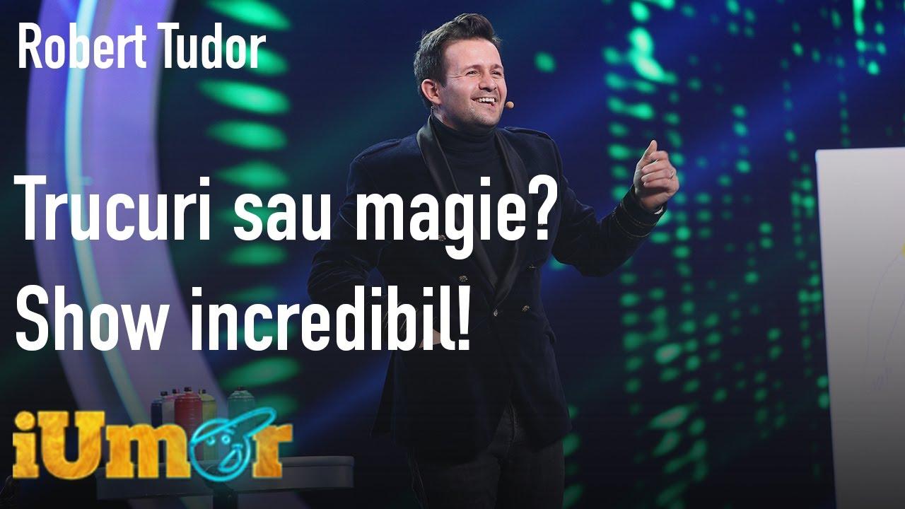 Trucuri sau magie? Iluzionistul Robert Tudor, show incredibil la iUmor. Mihai Bendeac: