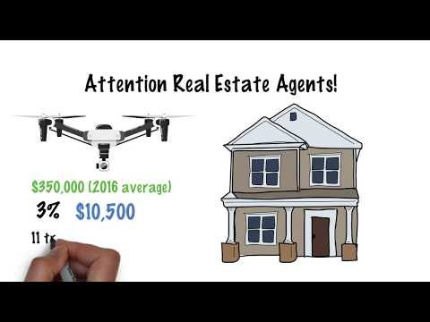 Drone Services  - Attention Real Estate Agents!