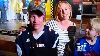 Dylan Godwin on KTVT Channel 11 in Dallas