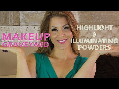 MAKEUP GRAVEYARD: Powder Highlighters & Illuminators