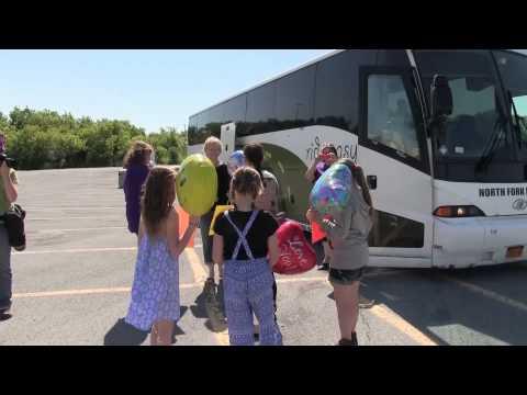 Fresh Air Fund children arrive in Watertown