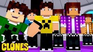 Minecraft Clones: O COMEÇO DOS CLONES !!