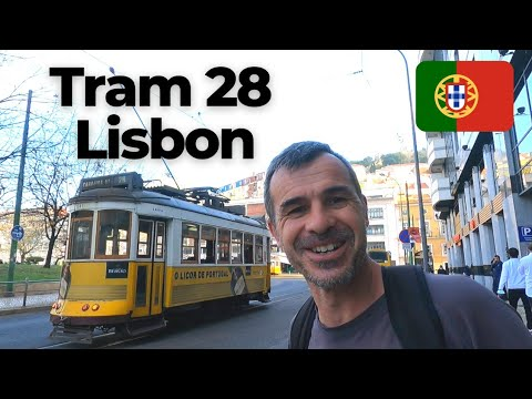 Incredible TRAM 28 LISBON | Experience the WHITE KNUCKLE RIDE | Ultimate Sight Seeing Tour