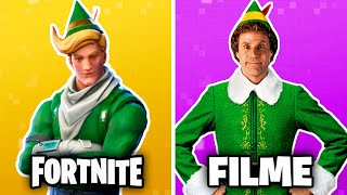 10 Fortnite Skins INSPIRED by real movies! (Fortnite's Skins in movies)
