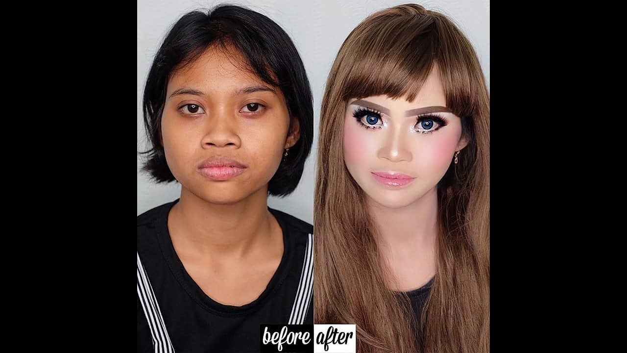 Makeup Before After Asian | amazing makeup transformation [Pure Magic]