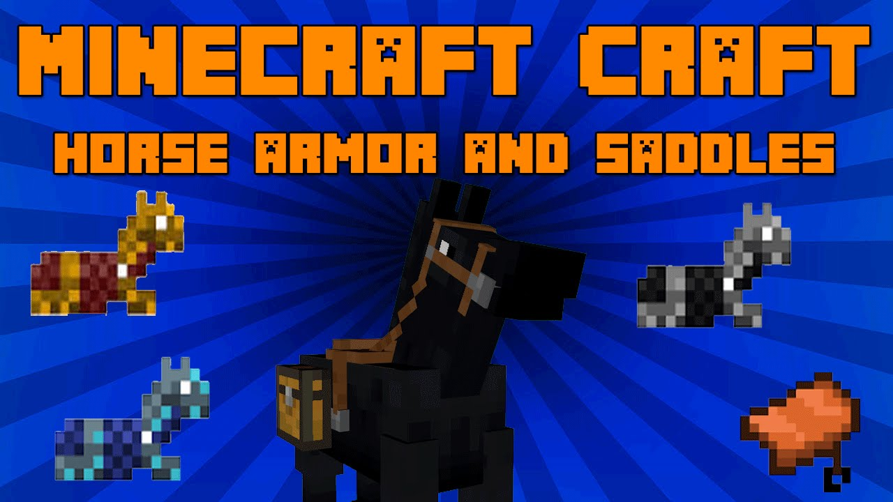 How To Make Horse Armor In Minecraft