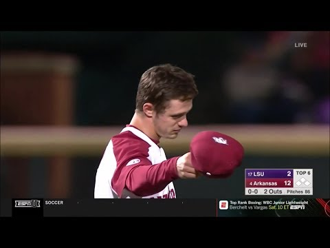 #4 Arkansas Vs #17 LSU Game 1 2019