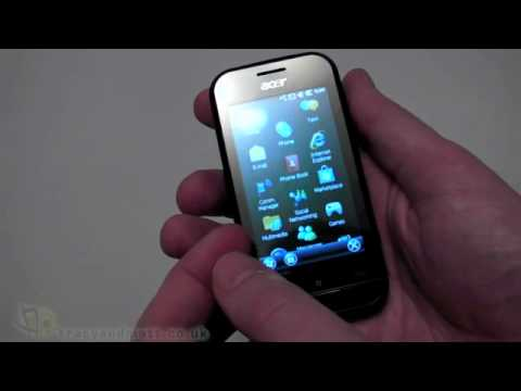 Acer neoTouch P300 unboxing video