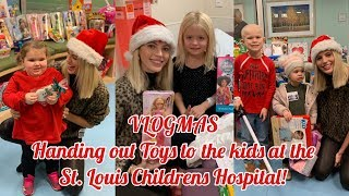VLOGMAS   Handing out Toys to the kids at the Hospital!   Devon Windsor