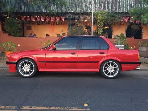 1989 BMW E30 IX Body Work and Refinishing