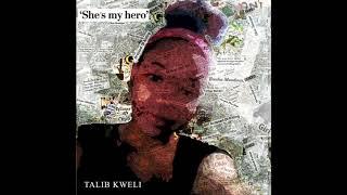 """YouTube動画:Talib Kweli """"She's My Hero"""" Prod. Oh No (Official Audio)"""