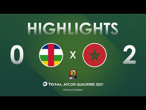CAR Morocco Match Highlights