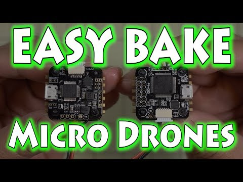 Easy Bake Micro Drones 🎂 FuriBee Flytower F3 & F4