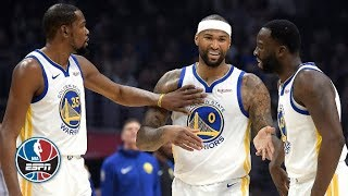 DeMarcus Cousins scores 14 points in his Golden State Warriors debut | NBA Highlights