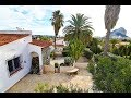 A 4 bedroom villa in Calpe, with private pool,  sea and Ifach Rock views, 2,8 km to the beach.