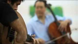 Yo-Yo Ma, Kamal Musallam & Israel Varela - music workshop 2011