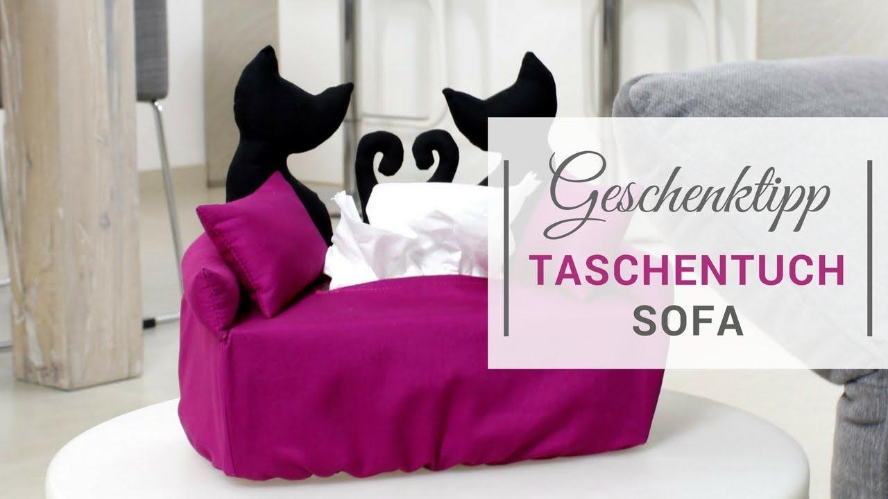 Geschenktipp Taschentuchsofa - YouTube