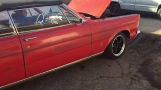 65 Galaxie 500 convertible for sale 937-621-8006 Greenville ohio