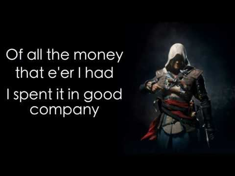 The parting glass lyrics Assassins Creed: Black Flag