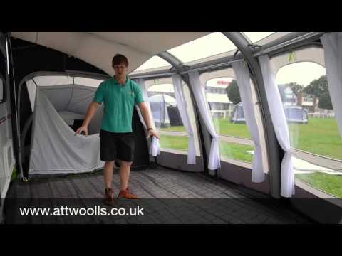 Kampa Ace Air Awning Review 2016 Youtube