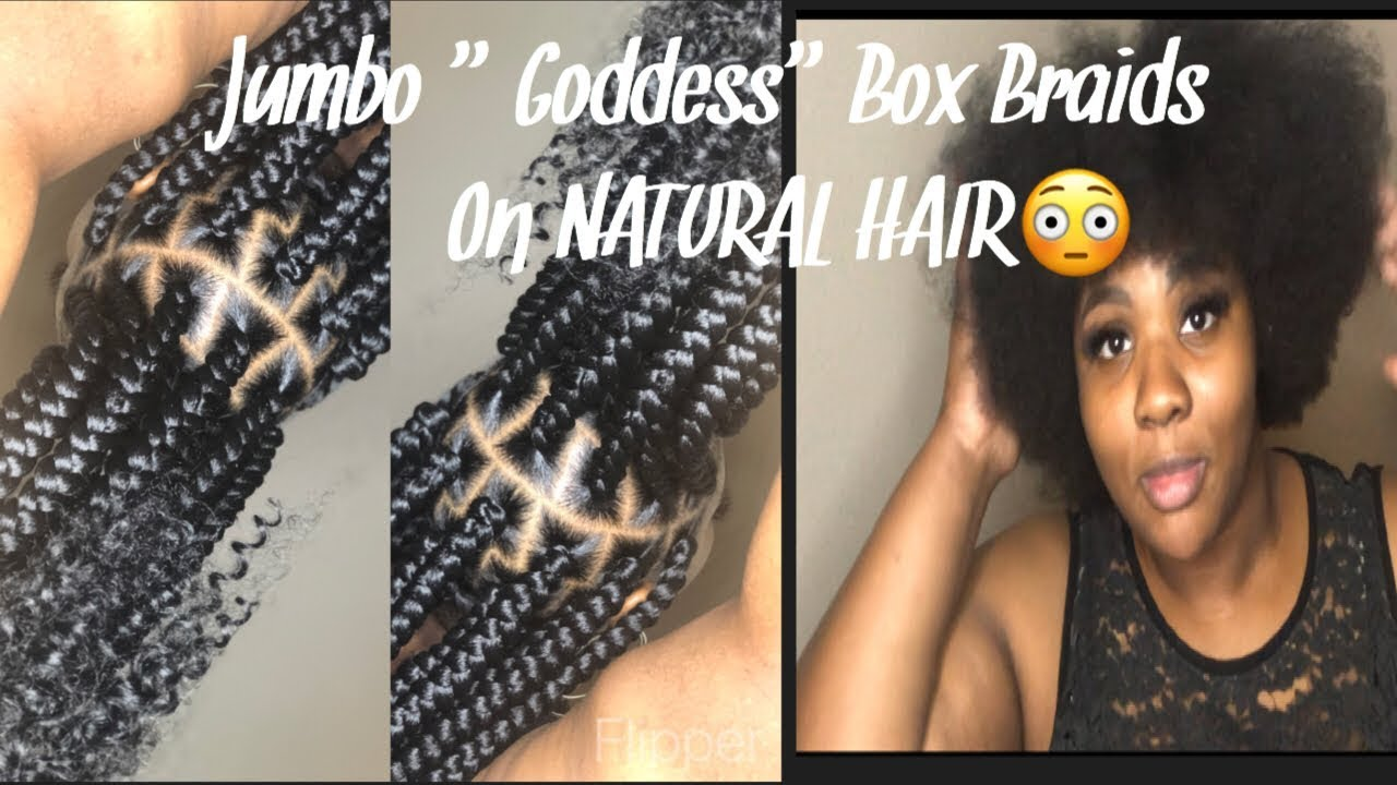 Jumbo Goddess Box Braids Youtube