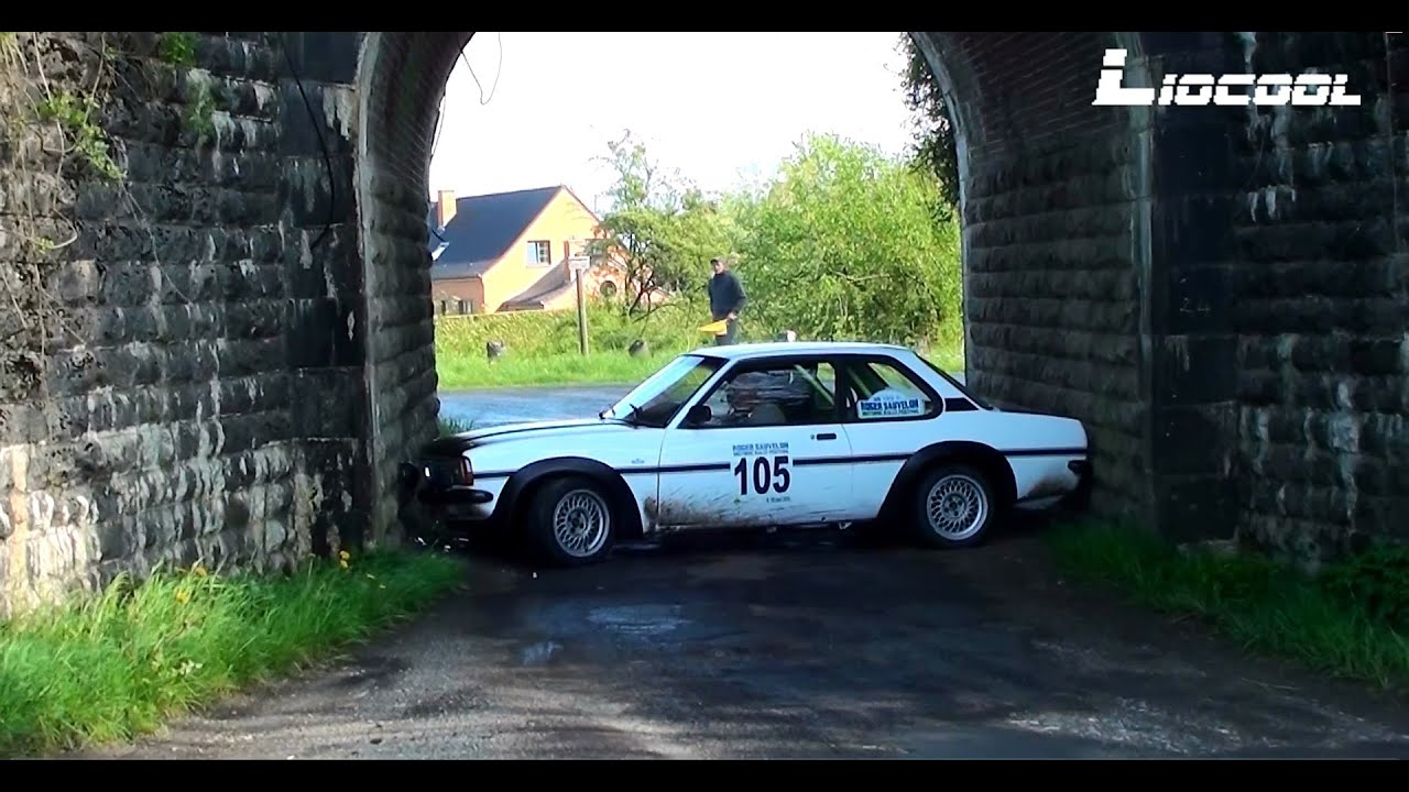 Historic Rally Festival 2015 - Show, Spin & Mistakes [HD] - YouTube